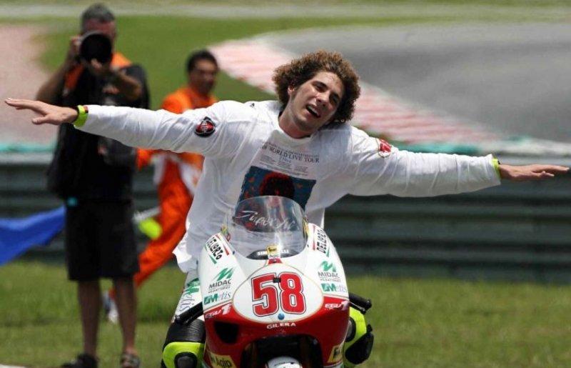 19 ottobre 2008, il trionfo di Marco Simoncelli nel Motomondiale 250