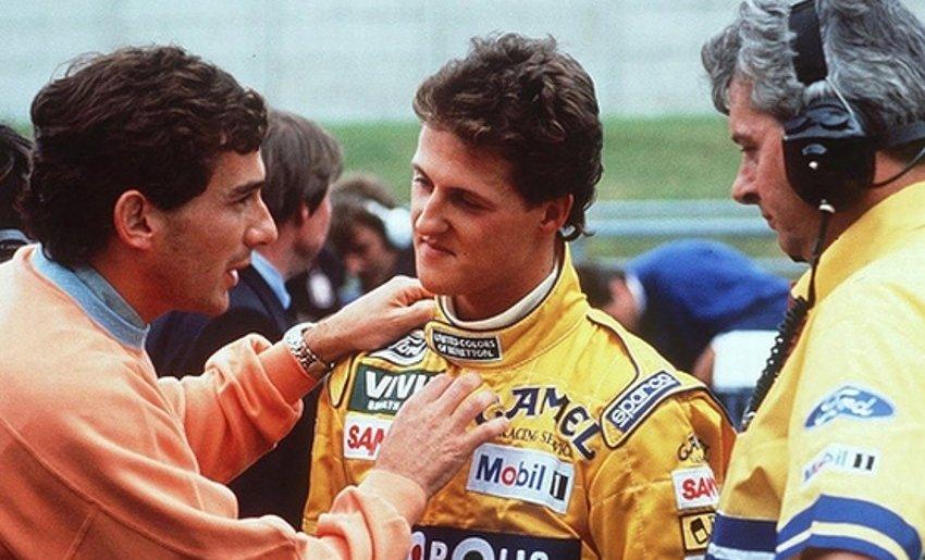 Il pianto di Michael Schumacher quando eguagliò le vittorie di Ayrton Senna
