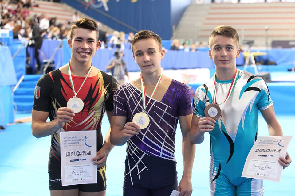 europei di ginnastica aerobica
