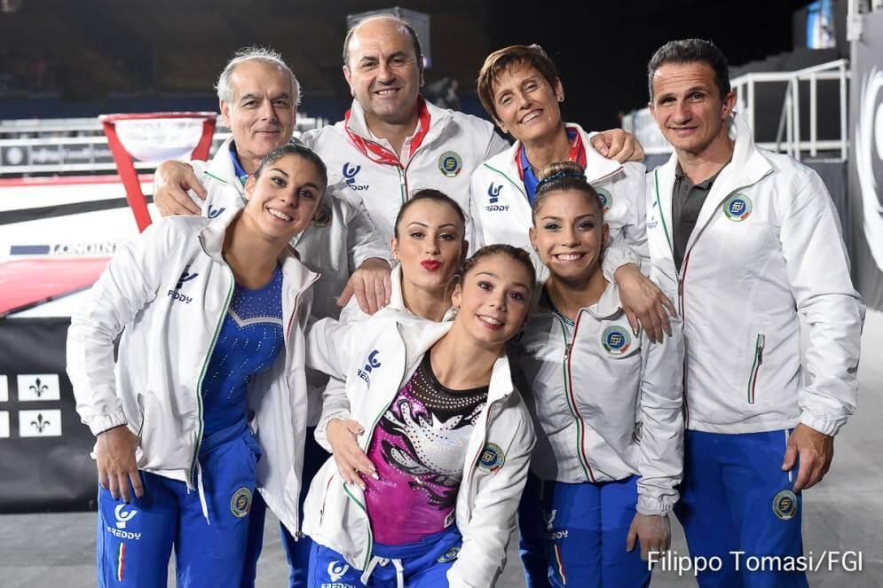 mondiali ginnastica
