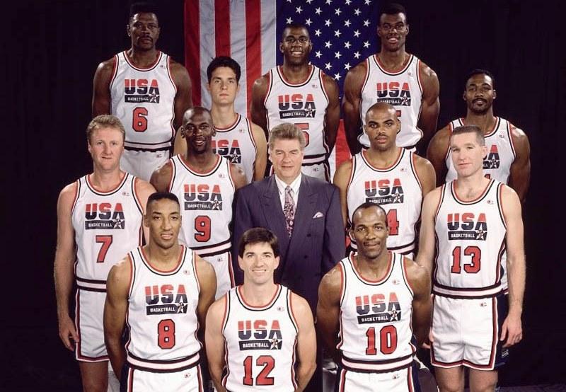 Il Dream Team, la squadra di basket più forte di sempre