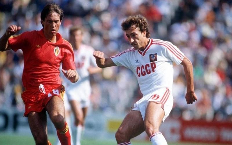 Urss - Belgio, 1986