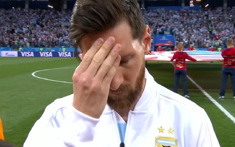 Messi inno argentina