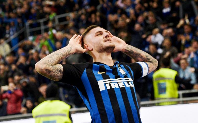 Icardi decide il derby e supera Vieri nella classifica gol nell'Inter in Serie A