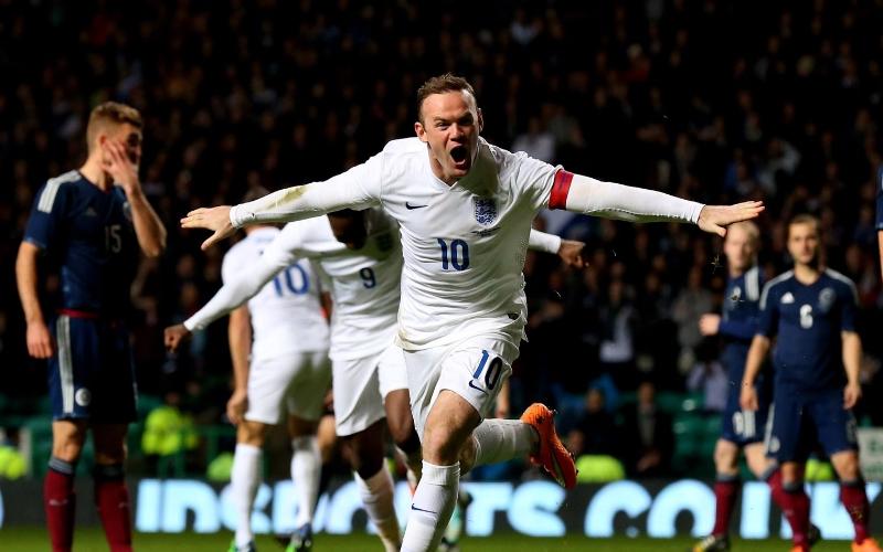 """L'ultima di Rooney con l'Inghilterra. A Wembley, da capitano e con la """"10"""""""