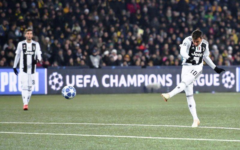 Paulo Dybala segna la rete numero 5000 della storia della Juventus