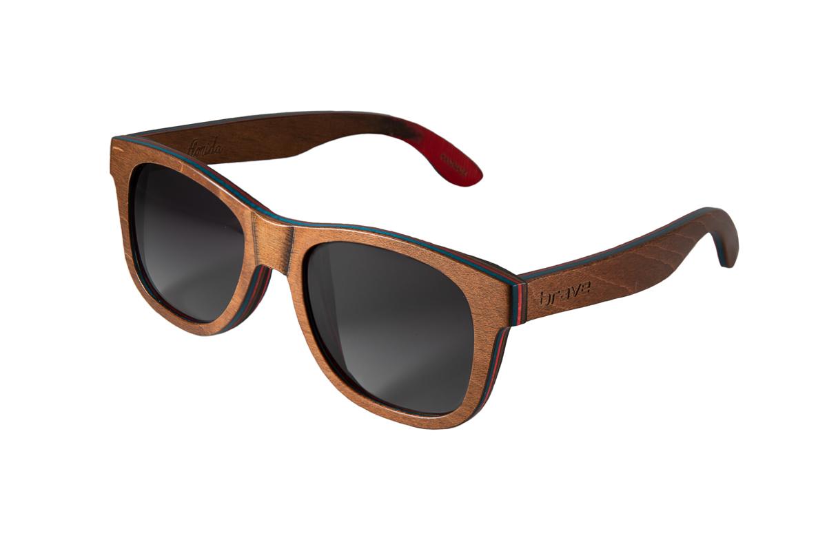 Florida – Brown Skateboard Wood/Gradient Smoke