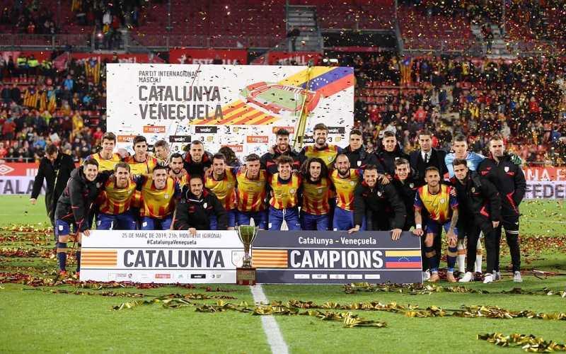Storica vittoria della Cataluña. Con Piqué, Krkic e Puado il Venezuela è ko