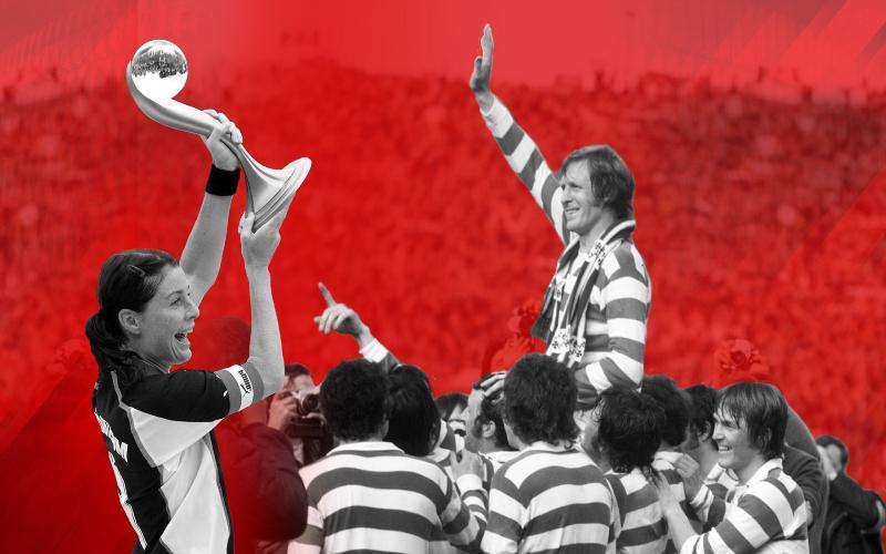 L'Athletic Bilbao premia Malin Moström e Billy McNeill per la loro carriera in un solo club