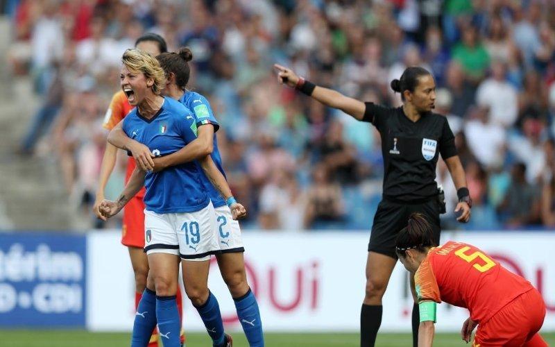 Impresa dell'Italia ai Mondiali: 2-0 contro la Cina e si vola ai quarti dopo 28 anni