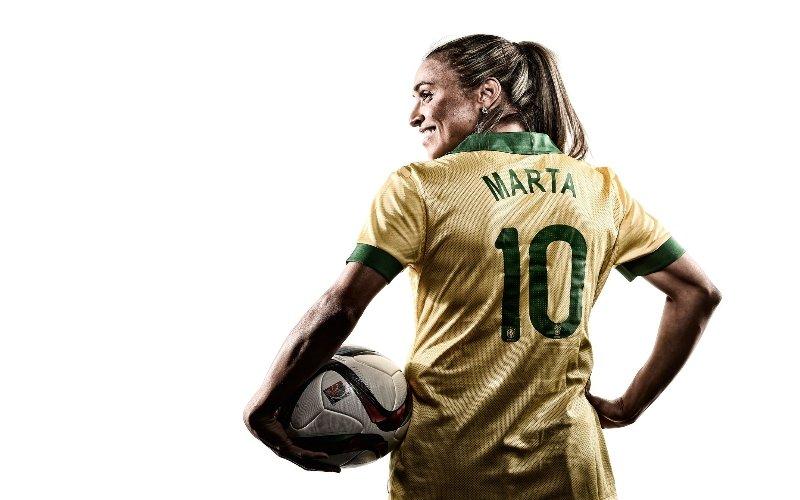 Marta è ancora leggenda: l'unica a segnare in 5 Mondiali differenti