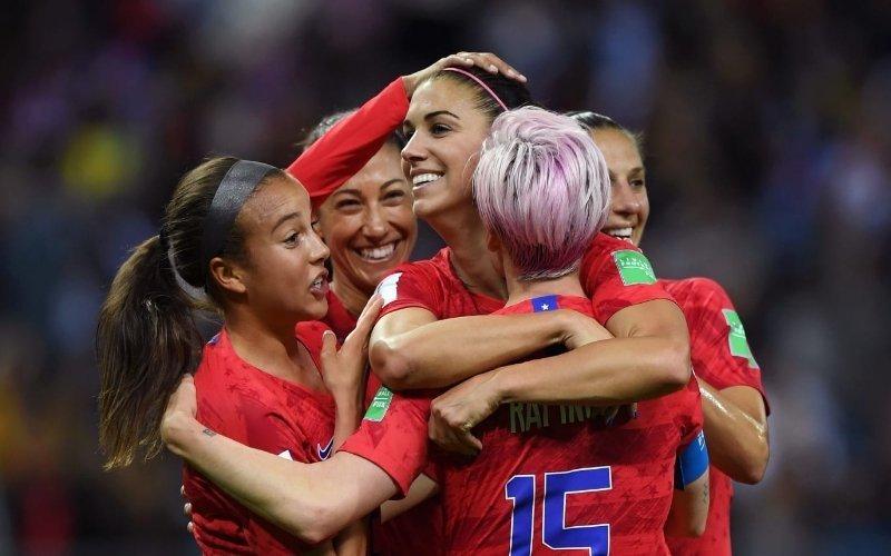 La Nazionale femminile Usa ha segnato più gol in una partita che quella maschile in 3 Mondiali