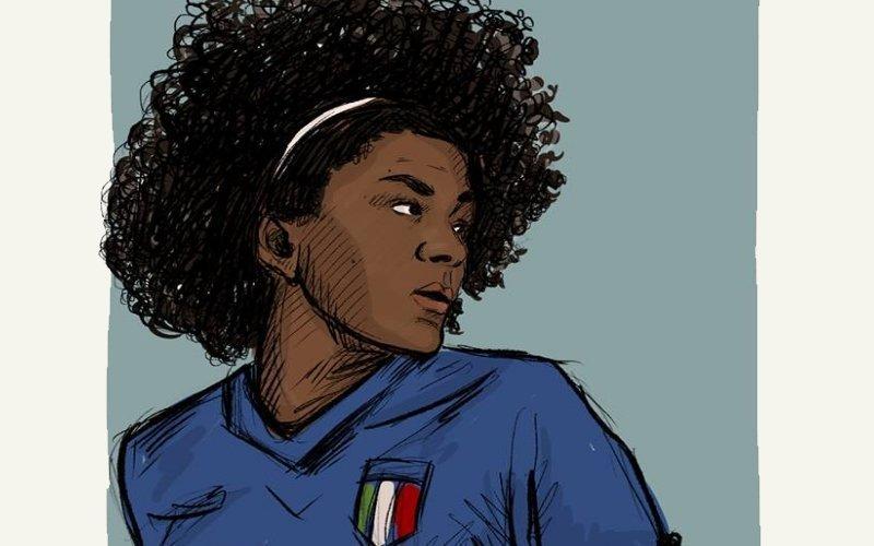 """I Mondiali femminili """"disegnati"""" : benvenuti nel mondo di Sarita"""