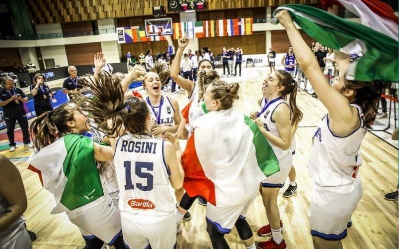 Dominio Italia: le Azzurre vincono l'Europeo di basket U-18!