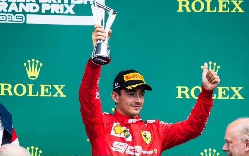 GP Silverstone: il video del quasi impossibile sorpasso di Leclerc su Gasly