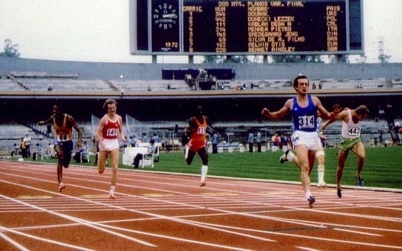 40 anni dal record di Pietro Mennea