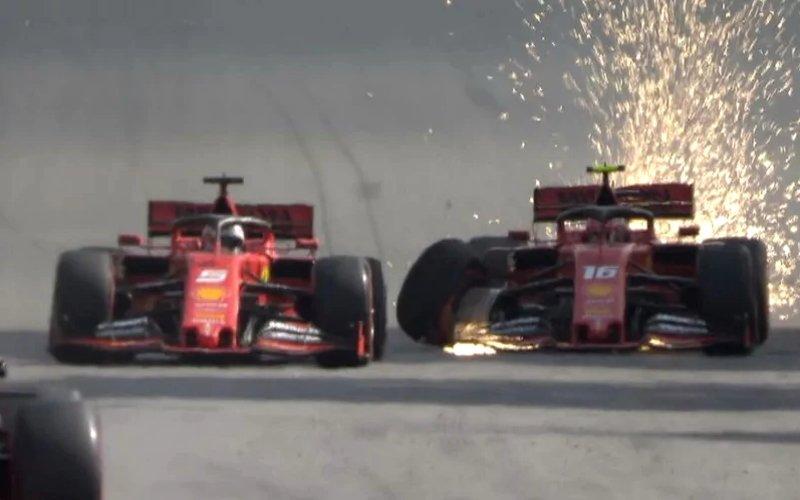 Formula 1, questa ci mancava: Vettel e Leclerc si buttano fuori!