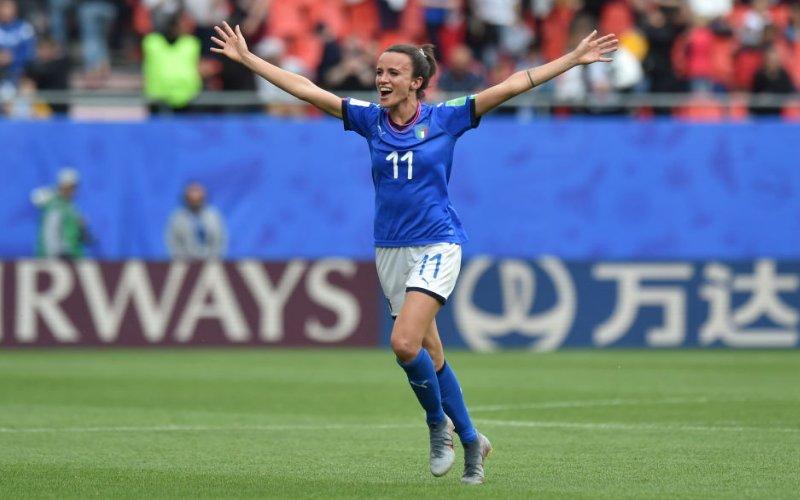 Barbara Bonansea è l'unica italiana tra le 100 calciatrici del 2019 secondo il Guardian