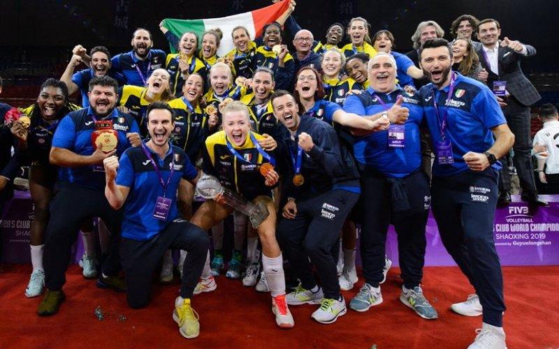 Imoco Conegliano sei nella storia: è tuo il Mondiale per club di volley!