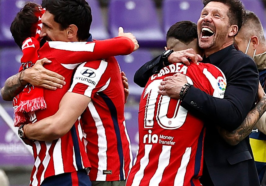 L'Atletico Madrid vince la Liga