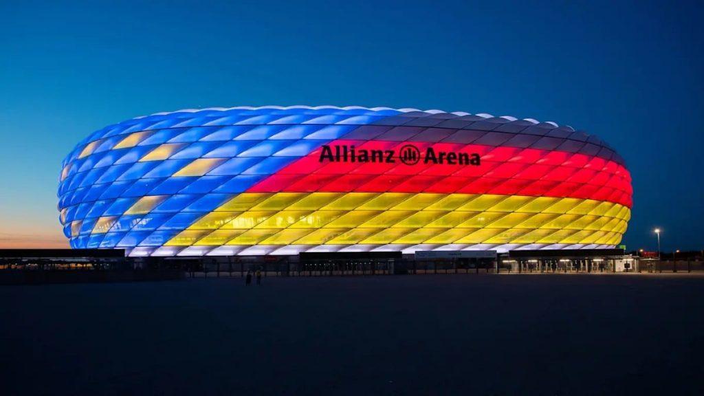 Stadio Allianz Arena Europei 2020