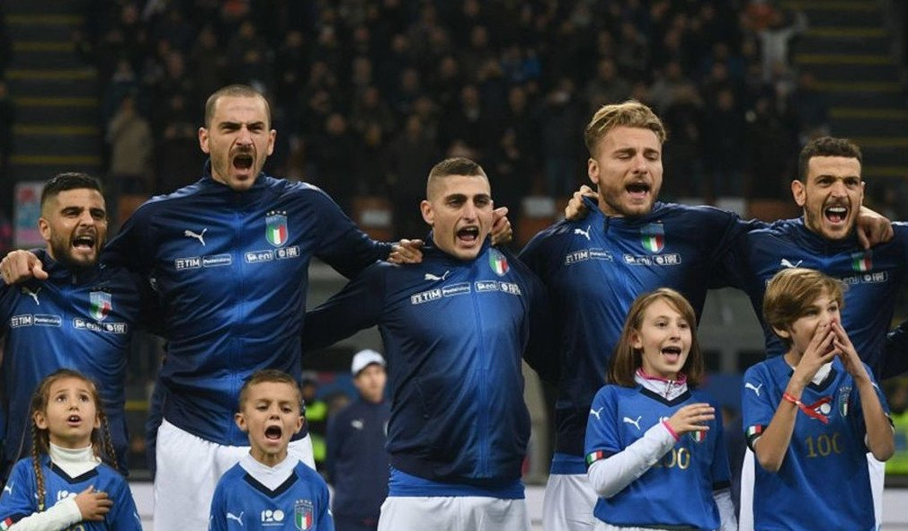 convocati Italia europei 2020