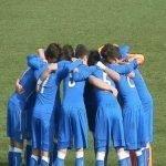 Giocatori dell'Italia Under21 esultano