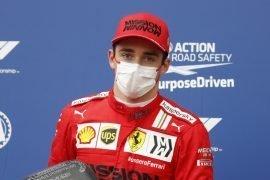 Ferrari Leclerc non parte