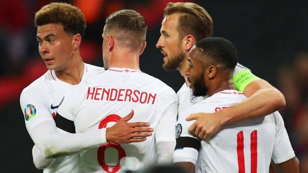 Foto squadra Inghilterra Europei 2020