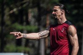 Ibra con la maglia del Milan