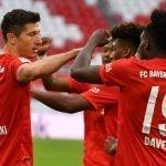 bayern festeggia la vittoria della Bundesliga