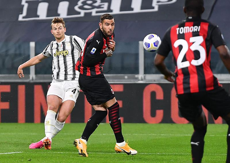 Juventus Milan in Champions League