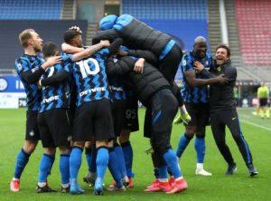 Scudetto 2021 all'Inter