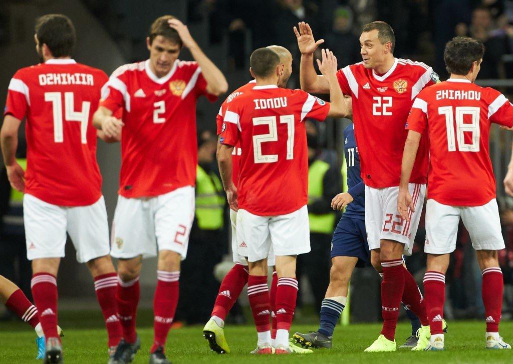 Squadra Russia Europei 2020