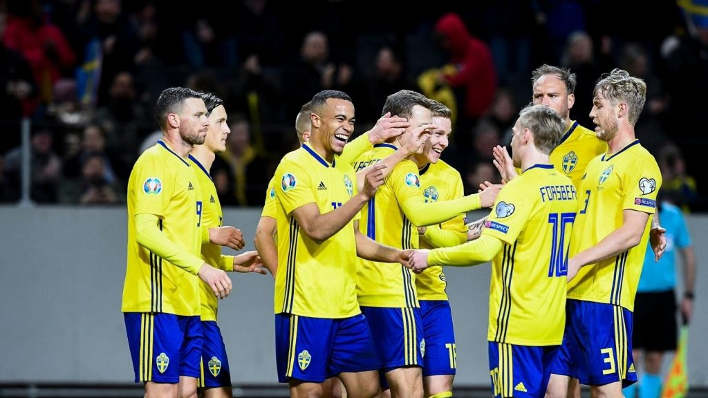 Squadra Svezia Europei 2020