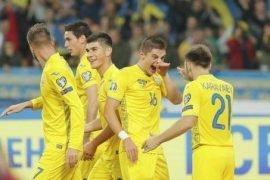 esultanza squadra ucraina euro 2020