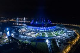 stadio san pietroburgo europei 2020