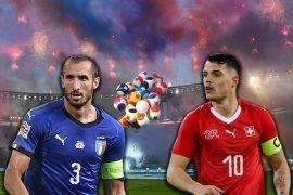 Italia batte la Svizzera agli Europei 2020