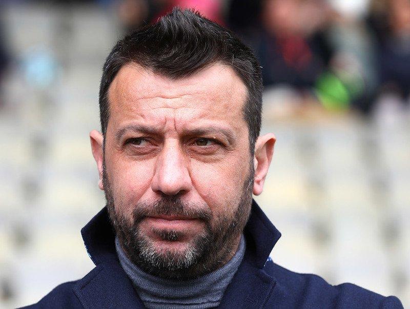 Roberto DAversa vicino alla Sampdoria