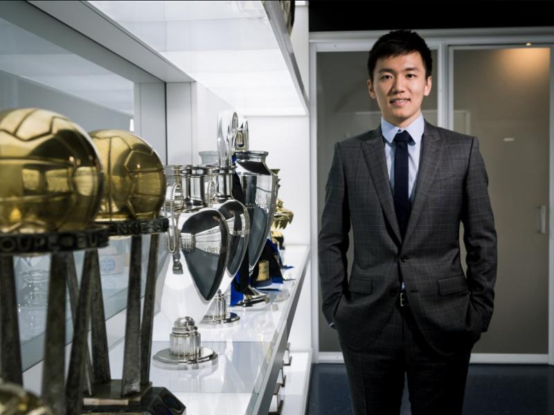 foto del presidente Zhang che ha rilasciato dichiarazioni sull'Inter