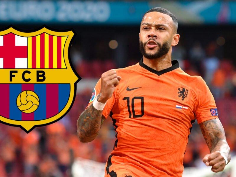 Depay che va al Barcellona