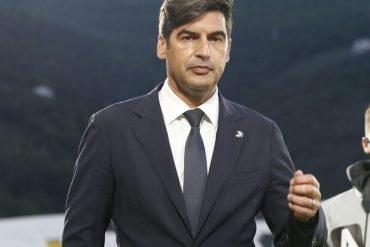 Paulo Fonseca che è vicinissimo al Tottenham