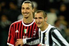 Ibra e Chiellini che si è infortunato a Euro 2020