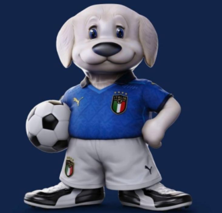 mascotte Italia Europei 2020