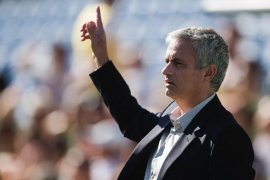Mourinho che vuole risolvere il rebus portieri roma