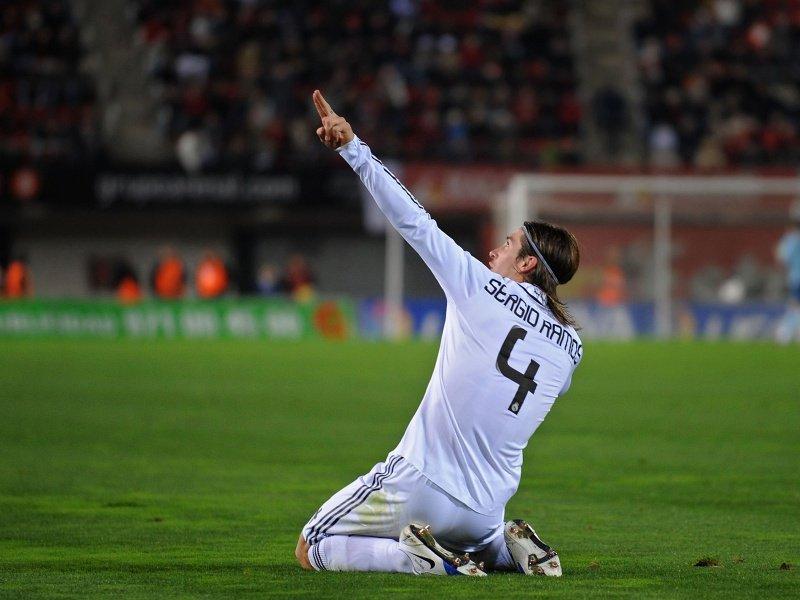 Sergio Ramos che lascia il Real Madrid