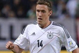 Germania che gioca la partita contro la Costa d'Avorio nelle Olimpiadi di Calcio 2021