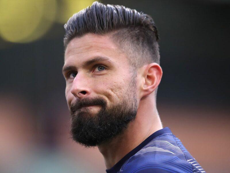 Giroud che è vicinissimo al Milan