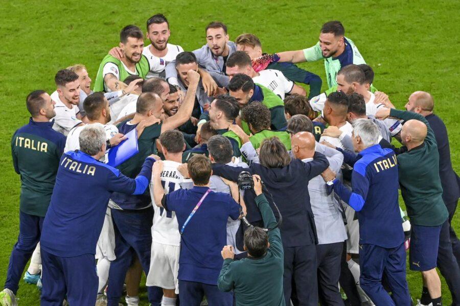 L'Italia che va in finale Euro 2020
