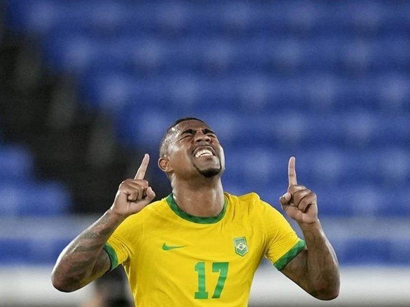 Malcom fa vincere la medaglia d'oro al Brasile alle olimpiadi 2021 di Calcio